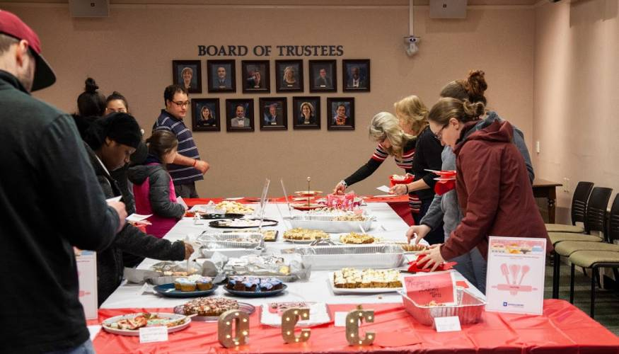 Last year's QCC's Alumni Association Bake-Off was a sweet treat for all.