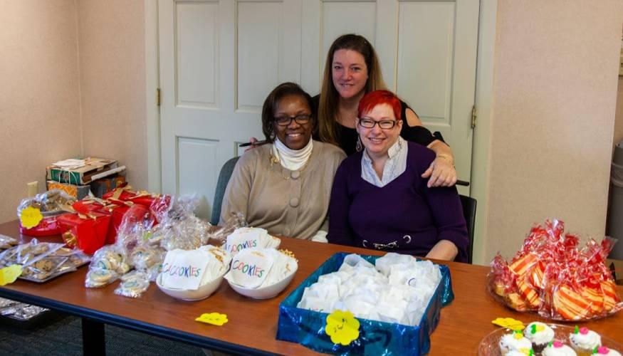 From left: Karen Rucks, Cheryl Marrino and Shirley Dempsey