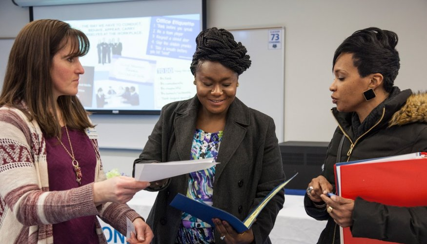 QCC Career Development Counselor Nicole Wheeler helps students get workforce ready.