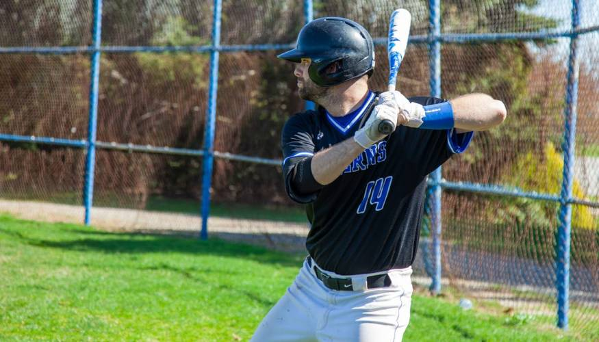 QCC Wyvern baseball player Zachary May – Second Team All-Region