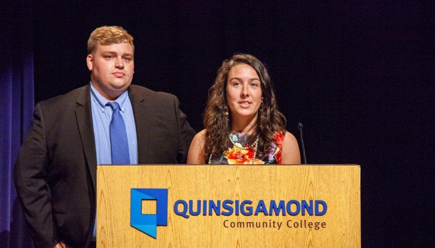 Edward Reitz and Stephanie Teixeira
