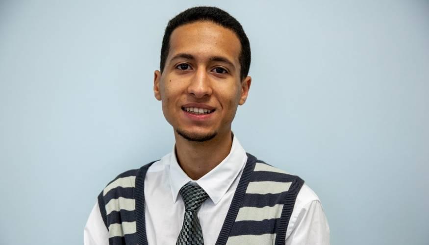 Student Trustee Mustafa Boweden