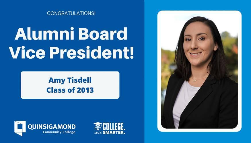 Amy Tisdell, Alumni Board Vice President