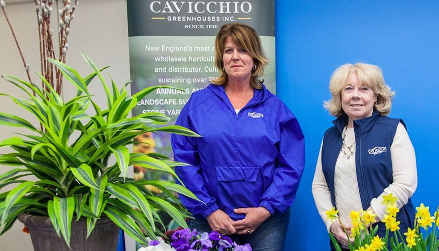 Cavicchio Greenhouses, Inc.was one of the many companies that participated in the the recent QCC Career Services Job Fair.