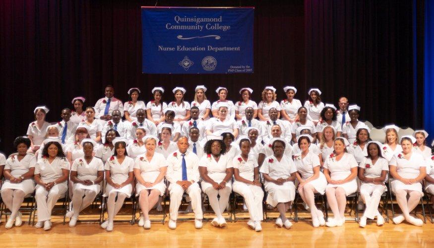 The 2018 QCC PN graduating Class