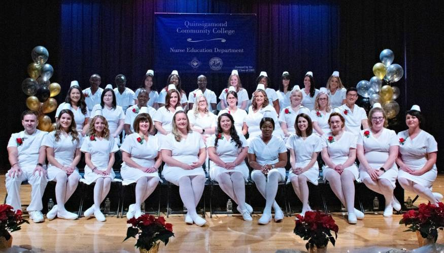 Graduates in the December 2019 Nurse Education day program.