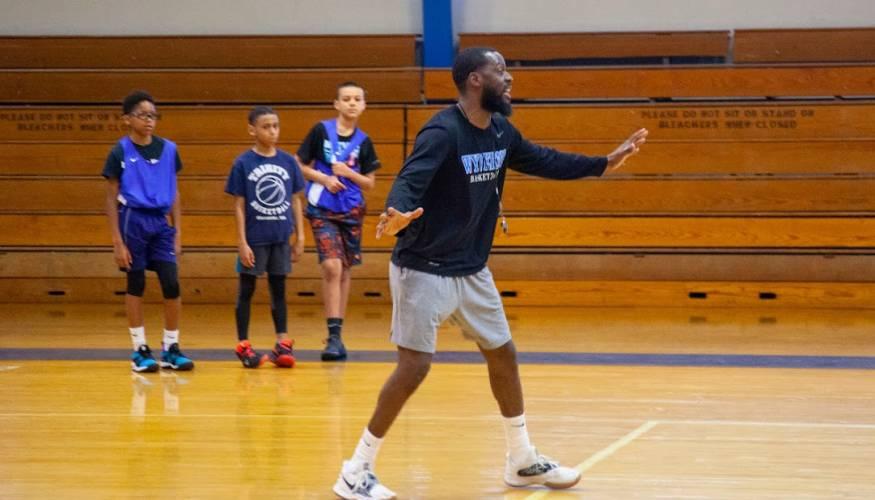QCC's Men's Basketball Coach Tishaun Jenkins