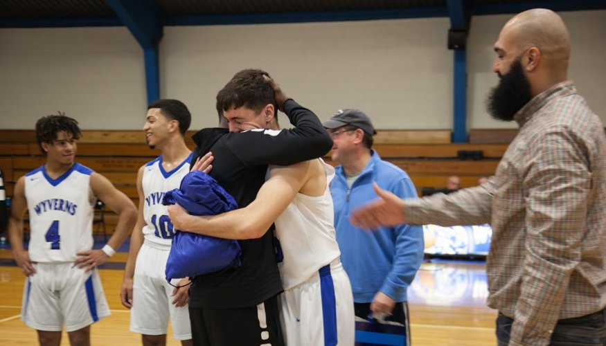 An emotional goodbye from Coach Jenkins.