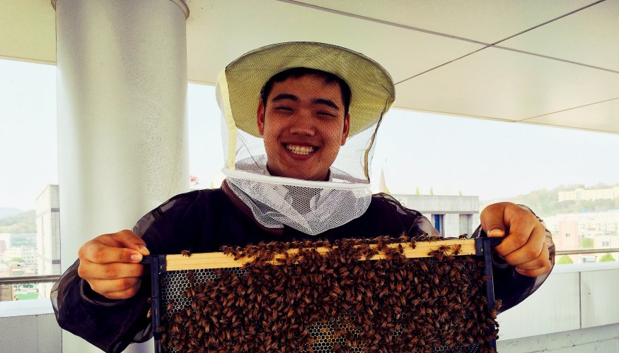 """Beekeeper Sang Yun """"Brandon"""" Won"""