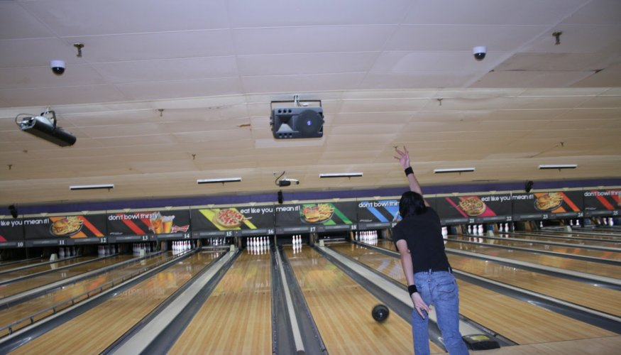 PTK hosts a Bowl-A-Thon to support the Lilly bookmobile.