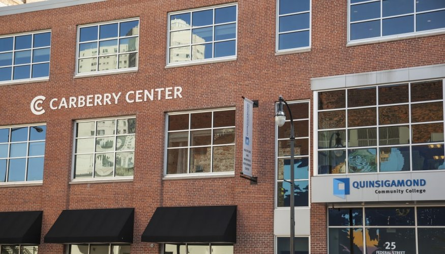 The college's Center for Workforce Development and Continuing Education is housed in the Carberry Center.
