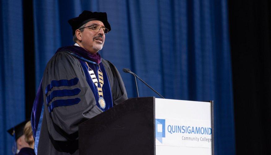 President Dr. Luis Pedraja
