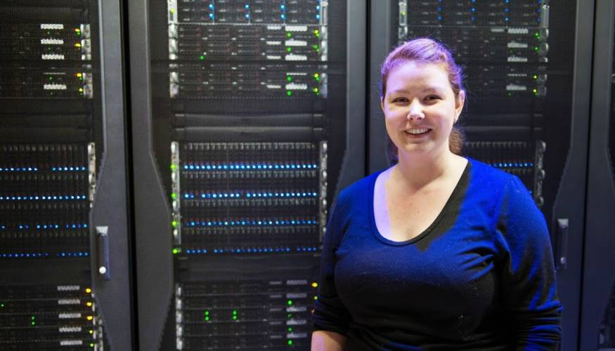 Women are becoming more prevalent in the IT field.