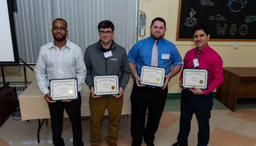 The Co-op Appreciation Breakfast recognized students and employers