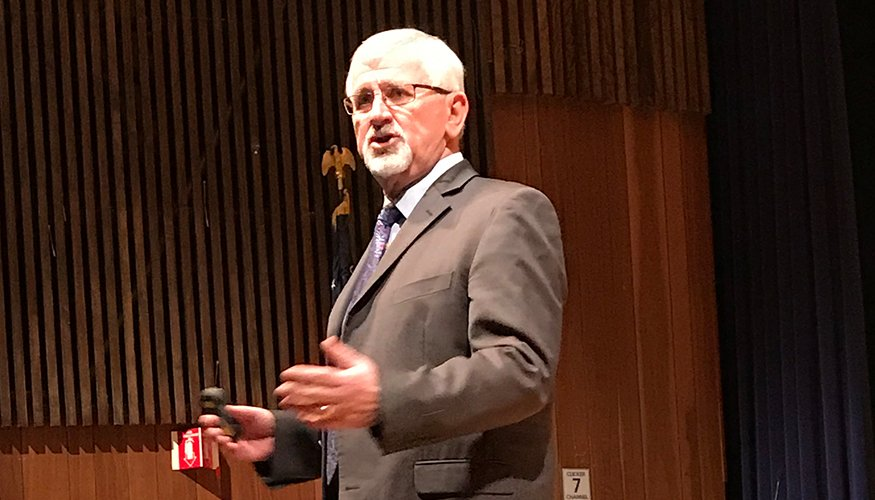 International Counterterrorism Expert Robert Milton