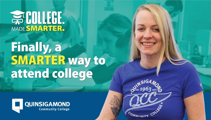 College Made Smarter campaign (Convenience).