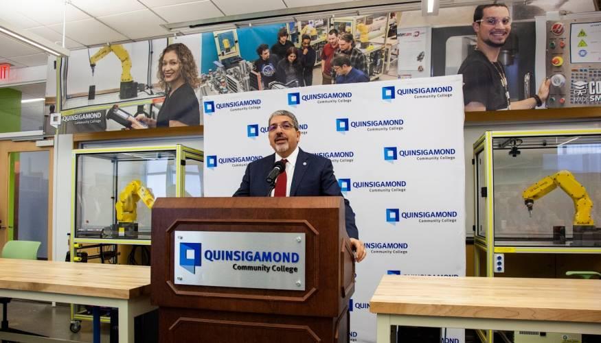 QCC President Dr. Luis Pedraja