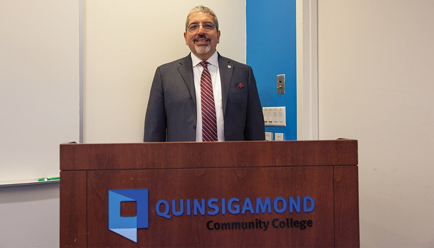 QCC President Dr. Luis G. Pedraja