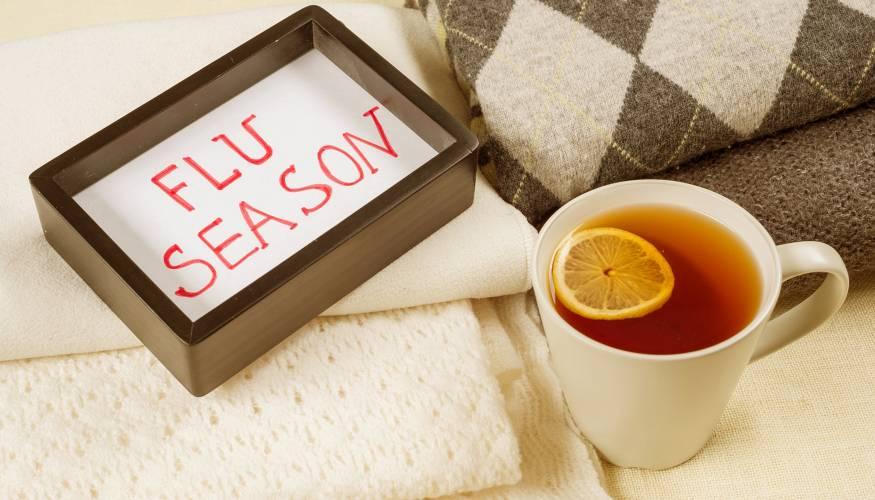 Flu season is underway.