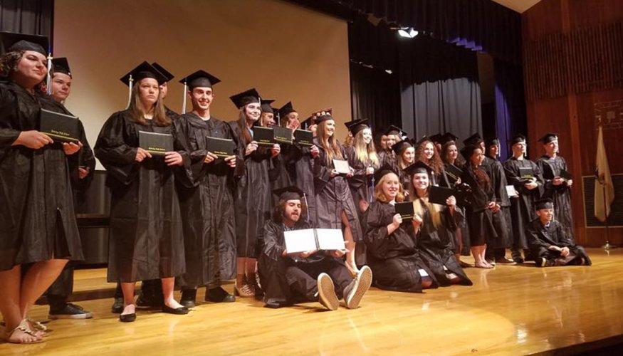 Gateway to College graduates