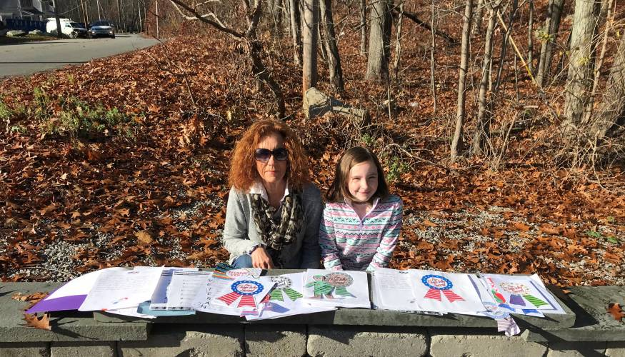 QCC's Director of Veteran Affairs, Paula Ogden and her granddaugher Ashlyn McCarty