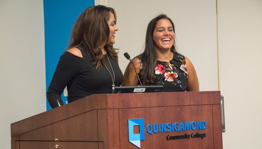 From left: Director of Community Bridges Deborah Gonzalez and Coordinator of Future Focus Program, Gilmarie Vongphakdy.