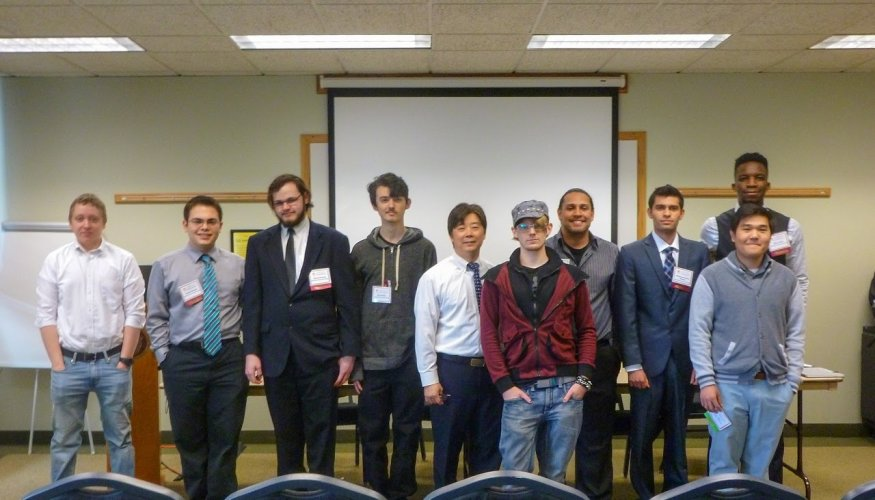 QCC Students at Research Conference