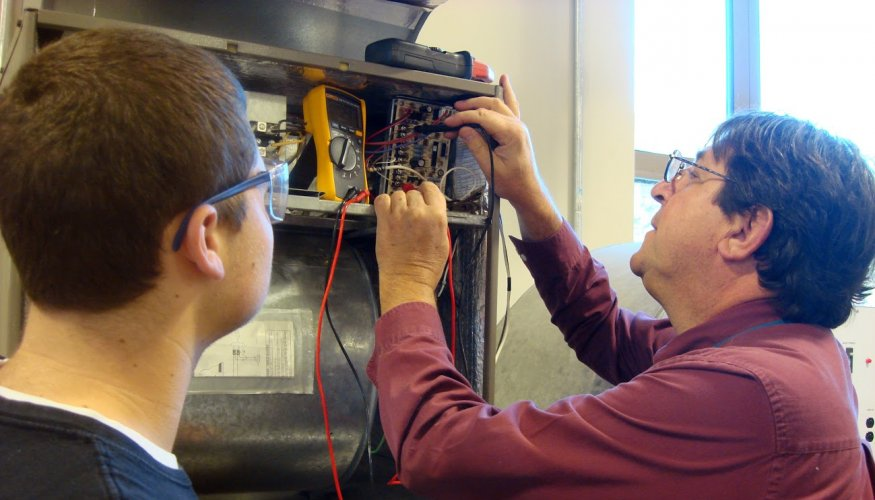 QCC's current HVAC certificate program at QCC at Assabet.