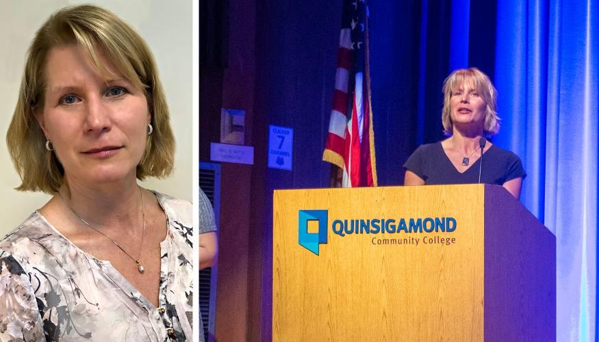 QCC's newest Fulbright Scholar Dr. Ingrid Skadberg