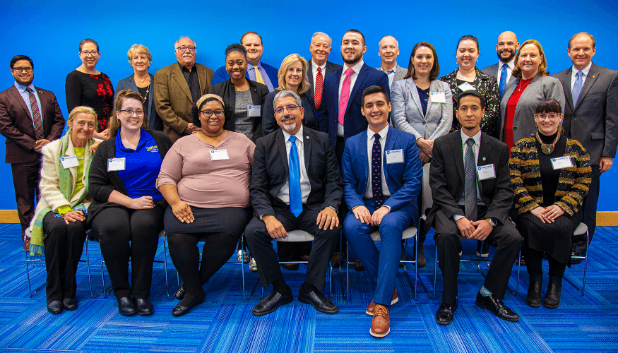 Legislators, students, faculty and staff at the 2020 Legislative Breakfast