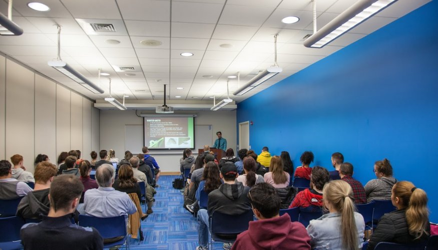 It was a full-house at the Environmental Sciences Department's informational session.