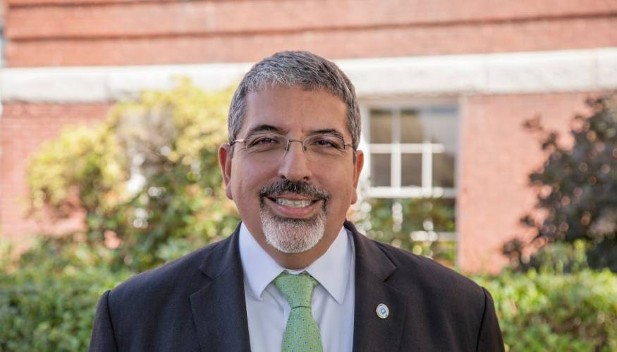 QCC President Dr. Luis Pedraja is a vocal advocate for all students.