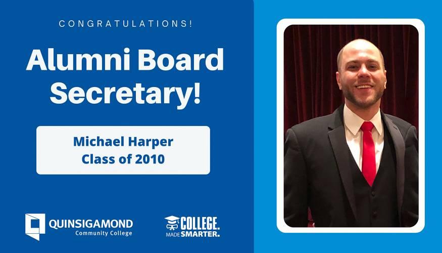 Michael Harper, Alumni Board Secretary
