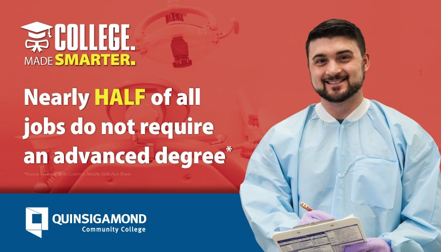 College Made Smarter campaign (Middle Skills).
