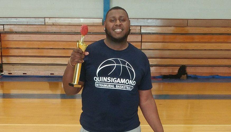 MVP Intramural Basketball Champ Aaron Alexander