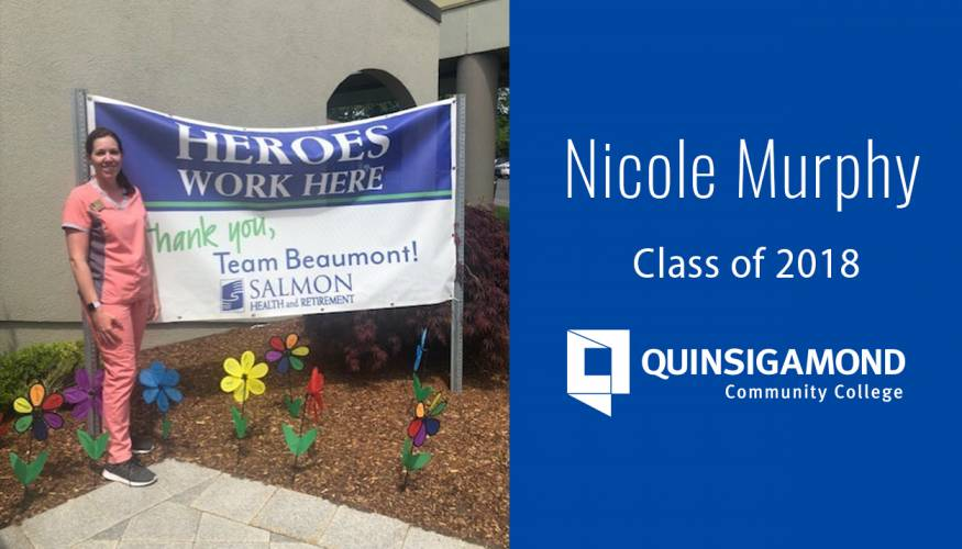 QCC Nursing Alumna Nicole Murphy