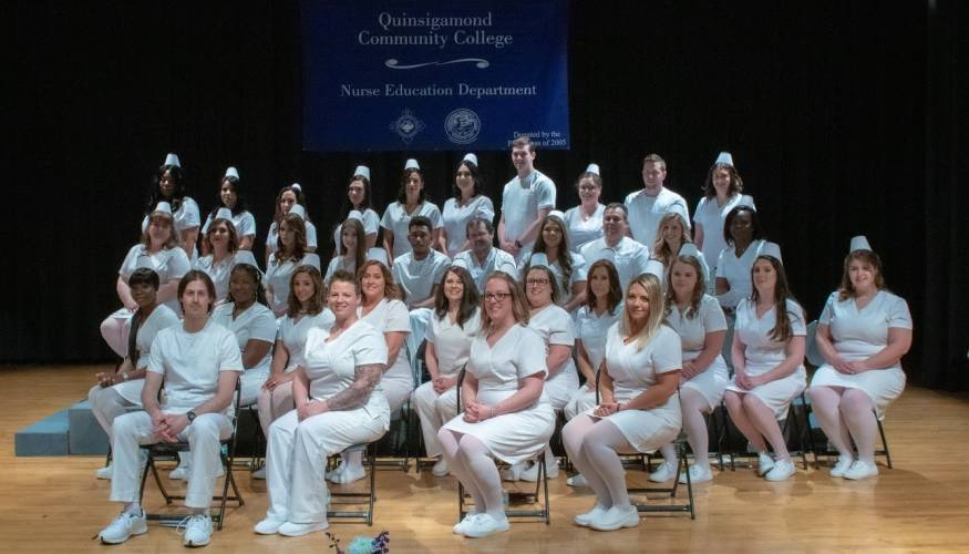 QCC's 2019 Nurse graduates