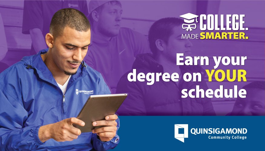 College Made Smarter campaign (Online).