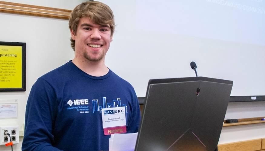 QCC student Daniel Doroff