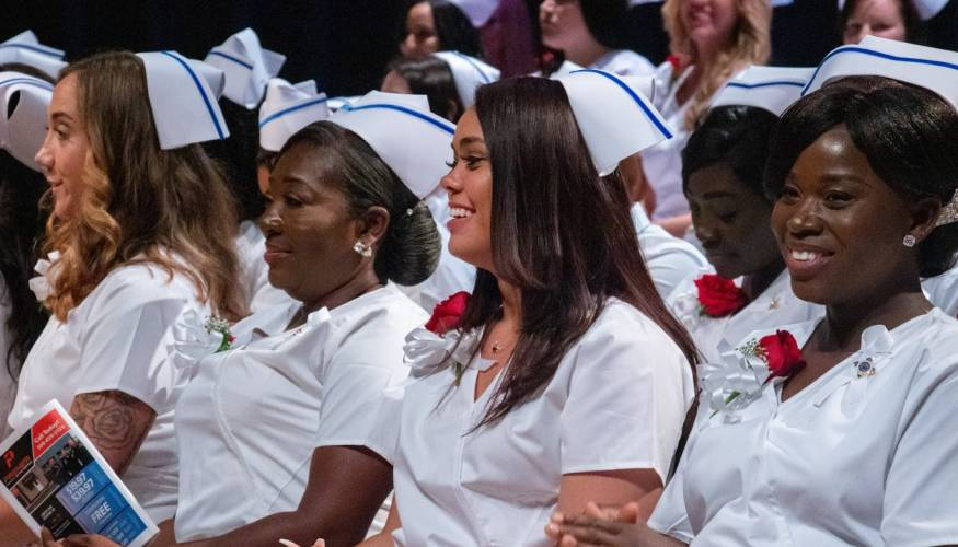 Practical Nursing grads prepare for the next chapter in their future.