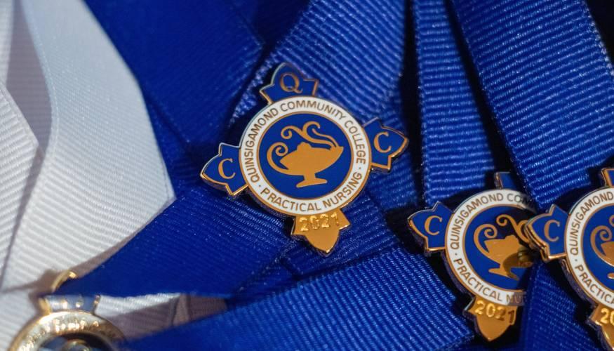 QCC 's Practical Nursing Program graduates its largest class.