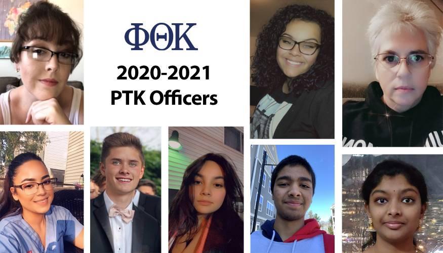 2020-2021 Phi Theta Kappa Alpha Zeta Theta Officers