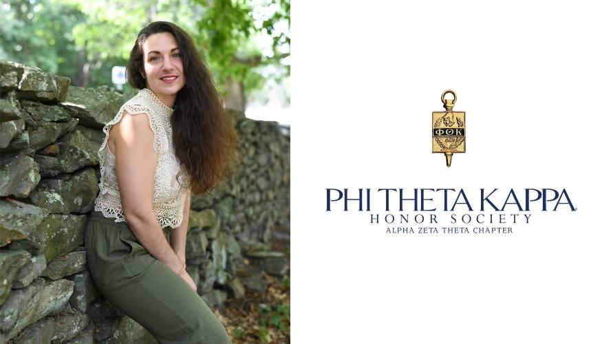 QCC 2018 graduate and PTK alumnae Cristina Picozzi