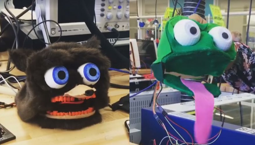 puppets created by gateway students