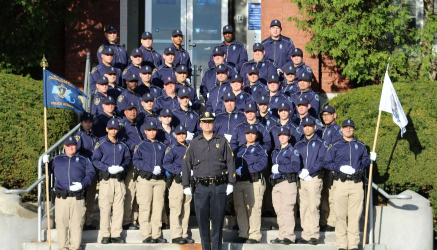 QCC Police Academy cadets