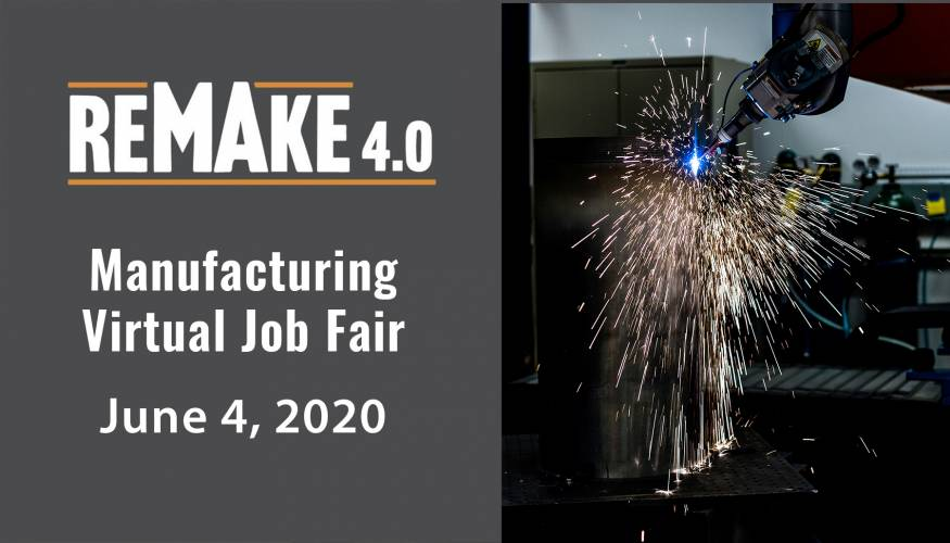Virtual Manufacturing Job Fair scheduled for June 4