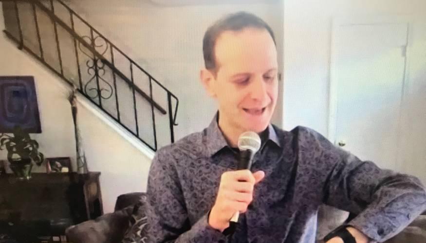 Commedian Robbie Printz