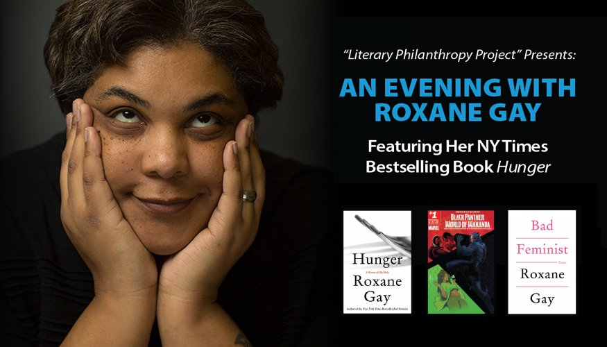 Roxane Gay's Event Flyer