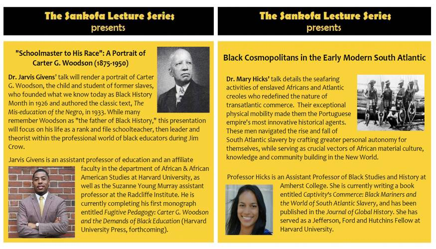 Sankofa Lecture Series