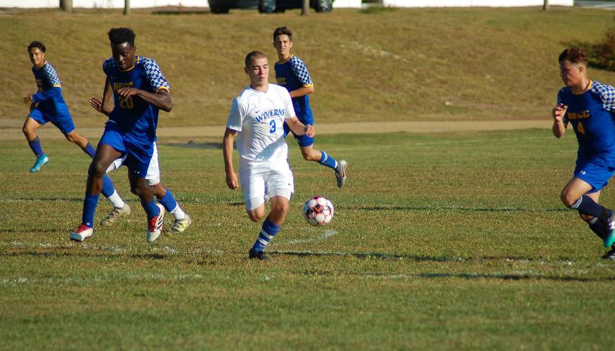 The QCC's Men's Soccer Team will be back in action beginning on September 21.